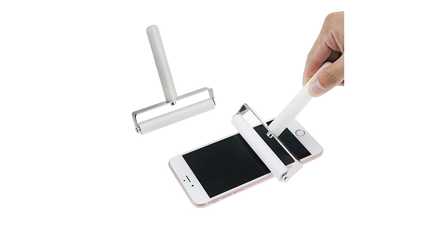 Ekavir Mobile Phone Pressure Screen Lamination Silicone Roller for Phone and Laptop Screen