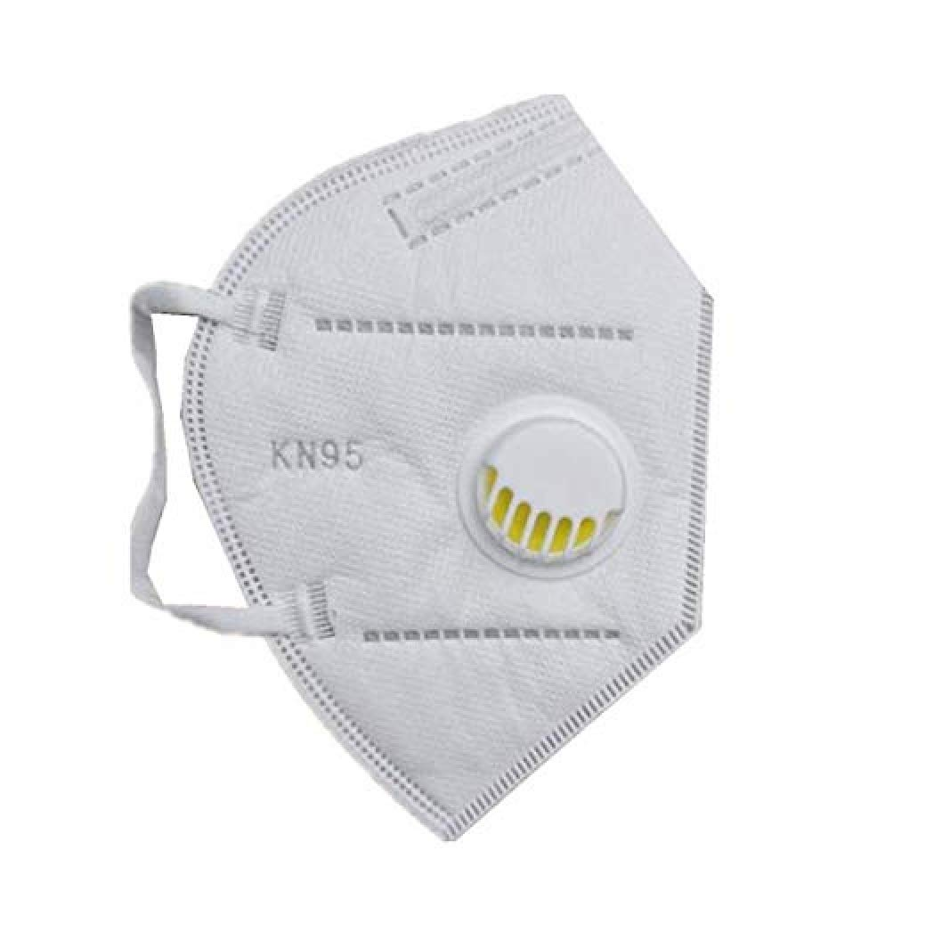 Ekavir K-N95 Masks With Respirator With Air filter Reusable Washable Mask Pack Of 5 (Random Color)
