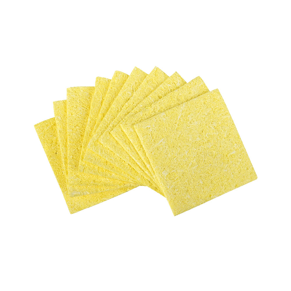 Ekavir 10 Pieces Soldering Iron Cleaning Pad Sponge For Clean Solder Iron Tip
