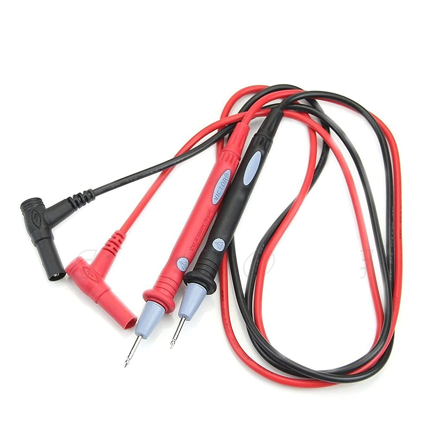 Universal New Digital  Multimetre Lead Probes Plug Test Cable Wire Multi Meter for  Electronic Work .