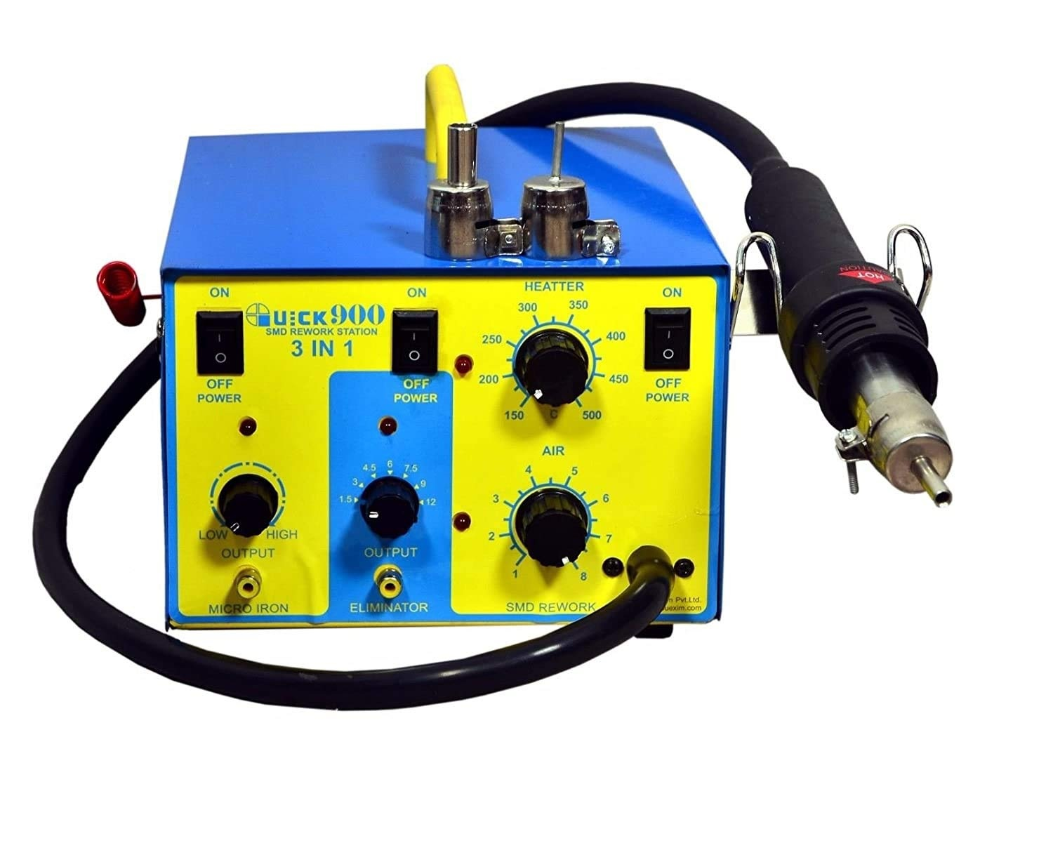 SMD Rework Station 900 Soldering Station include battery Eliminator and  Micro Soldering iron