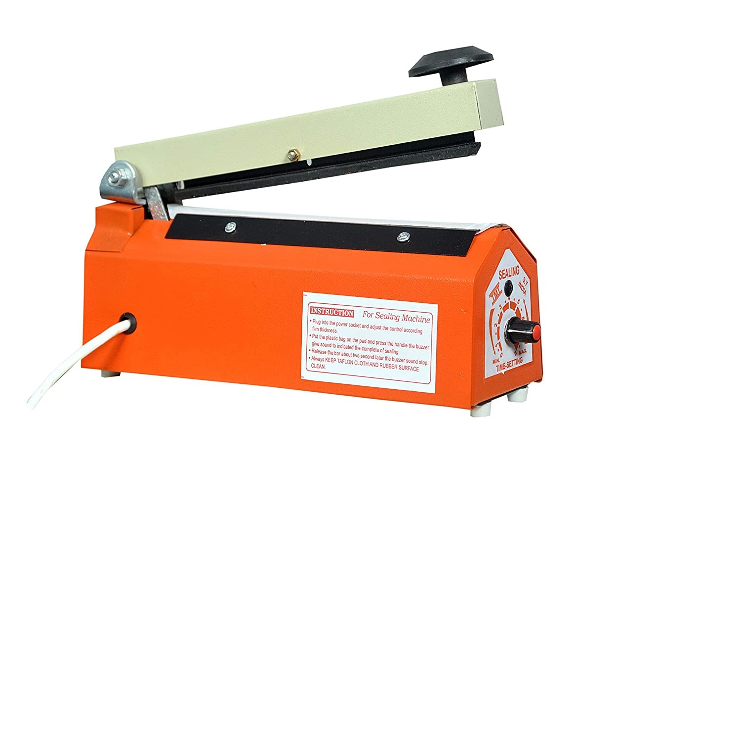 KARSYN Packet Heat Sealer Packing Sealing Machine (Impulse Plastic Pouch Hand Table Top Polythene 8 Inch, Multicolor).