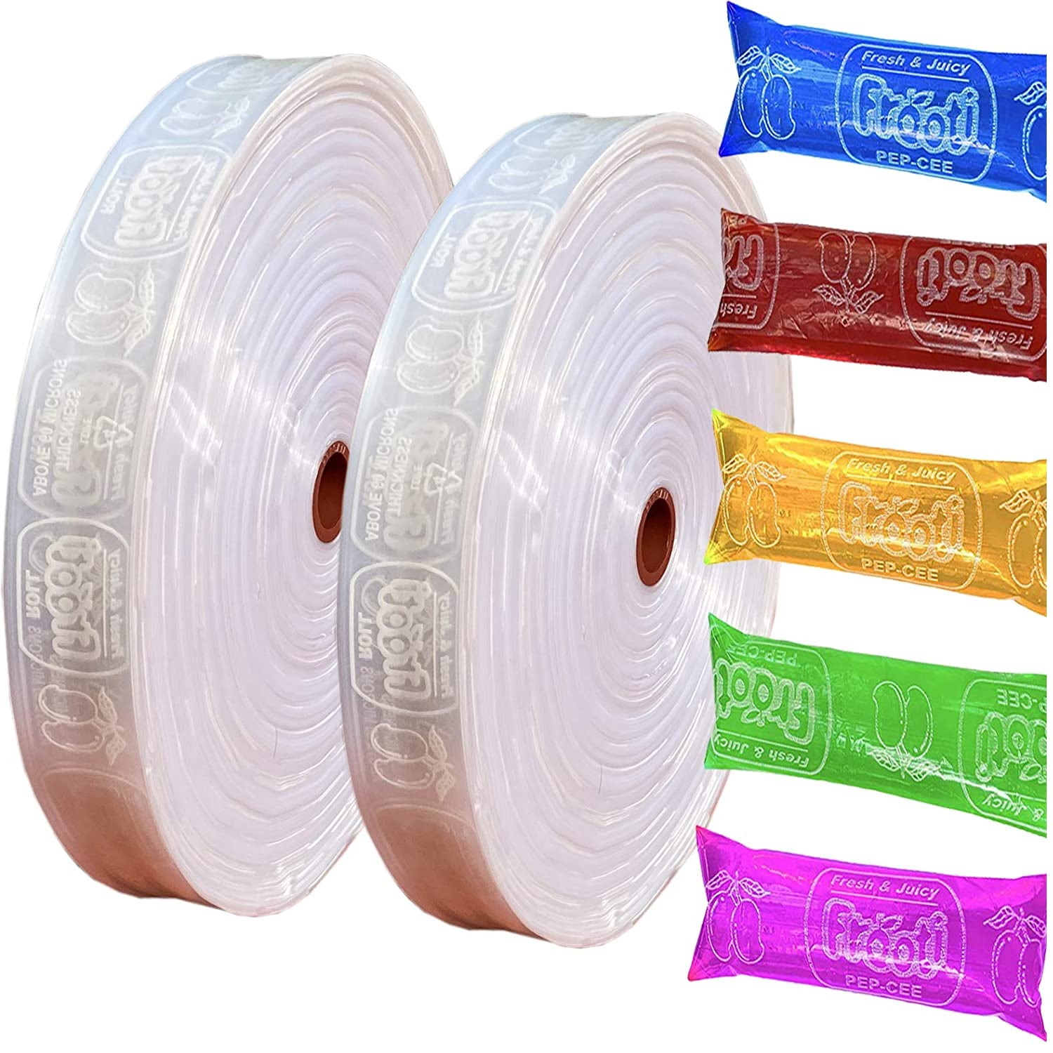 Pepsi Candy Roll, ,Pepsi Packing Roll, Liquid Candy Making Roll 60 Micron100% Pure Virgin LDPE Packing Material.