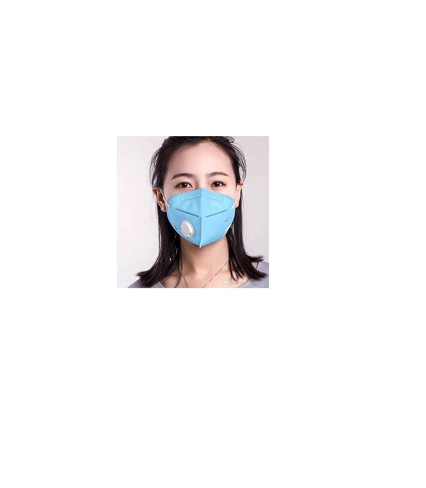 K-N95 Masks Mix Multi Colour Washable Mask With Respirator With Air filter (Reusable)