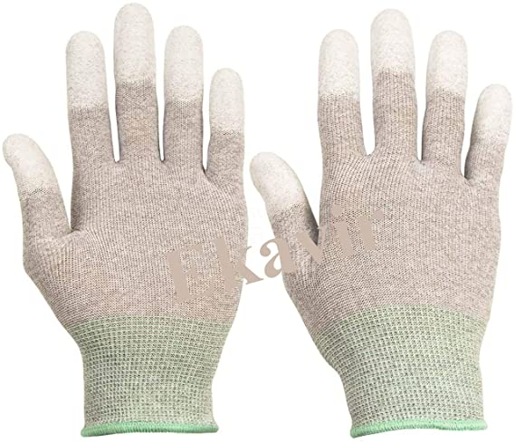 Ekavir ESD Gloves High Resistance Carbon Fiber Protects Your Electronic Products